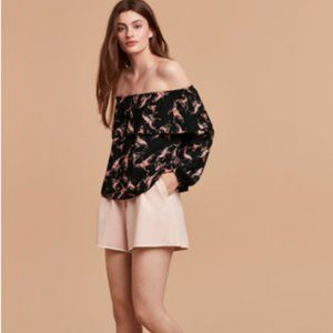 Wilfred Morel Off Shoulder Butterfly Blouse, XXS